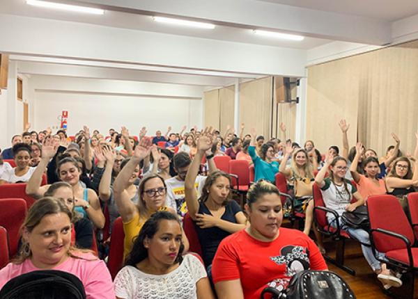 Aula Inaugural do curso de Enfermagem do Centro Universitário CNEC de Bento Gonçalves