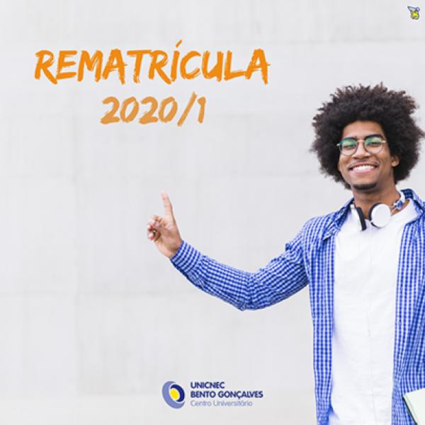 Rematriculas 2020/1