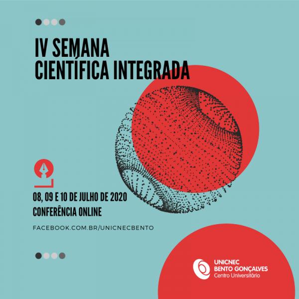 UNICNEC Bento promove a IV Semana Científica Integrada