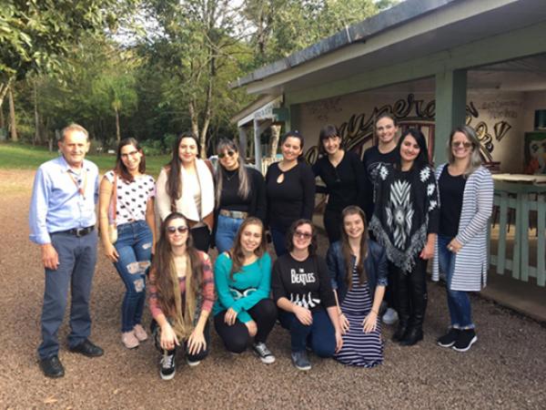 Alunos do curso de Psicologia visitam a Comunidade Terapêutica Rural de Bento Gonçalves