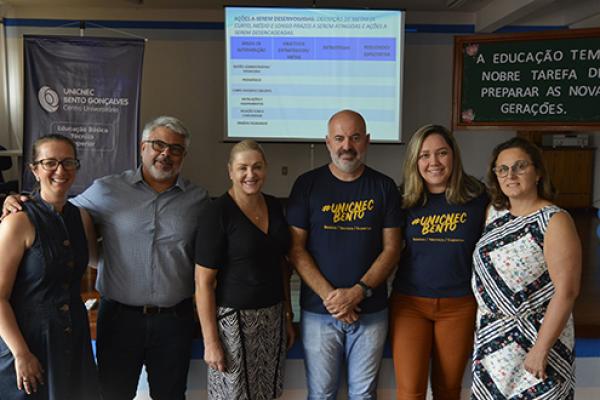 UNICNEC Bento promove o curso de capacitação para Diretores das Escolas Municipais de Bento Gonçalves