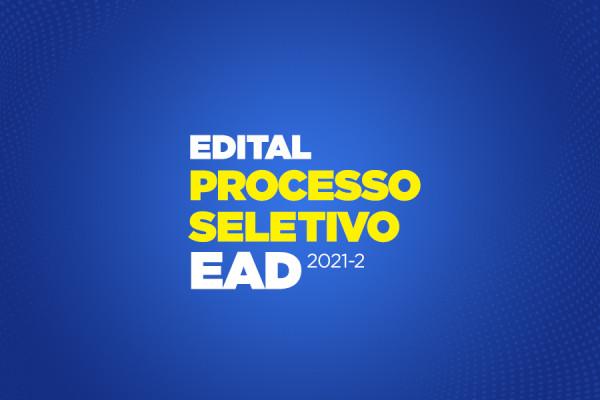 Edital processo seletivo EAD 2021.2 - Bento Gonçalves