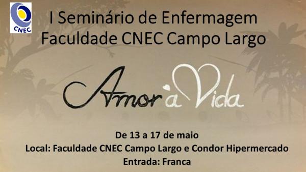 I Seminário de Enfermagem CNEC Campo Largo