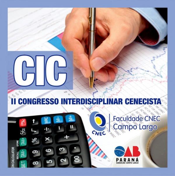 II CONGRESSO INTERDISCIPLINAR CENECISTA - CIC CNEC