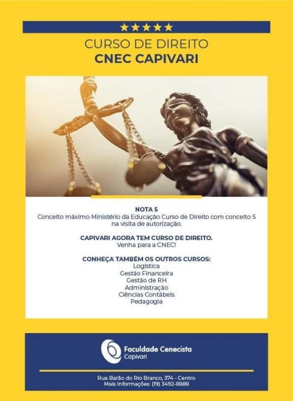 Curso de Direito da CNEC Capivari