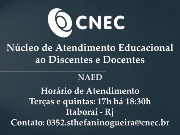 NAED - Núcleo de Atendimento Educacional ao Discente e Docente