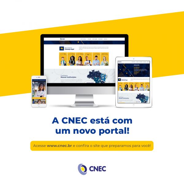 Conheça o novo portal corporativo da CNEC