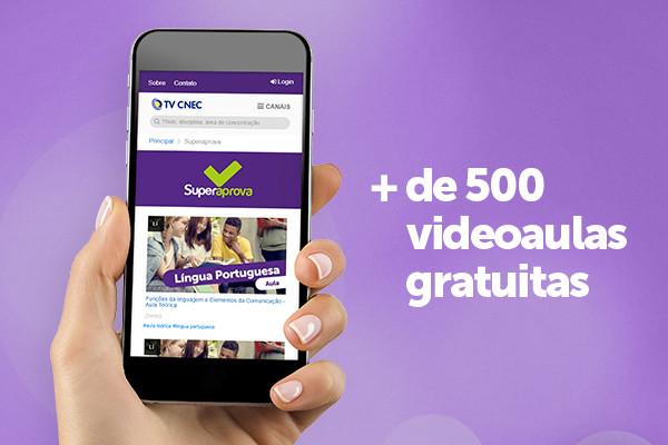 CNEC oferece mais de 500 videoaulas gratuitas para alunos do ensino médio
