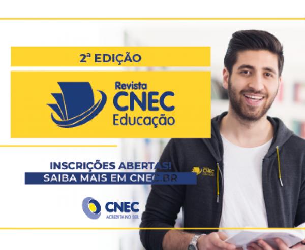 Até 29 de março - Envio de artigos para 2ª Edição da Revista CNEC Educação