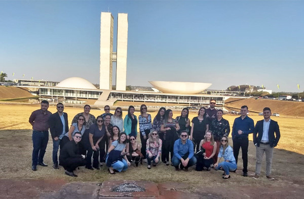 Curso de Direito promove visita a Brasília