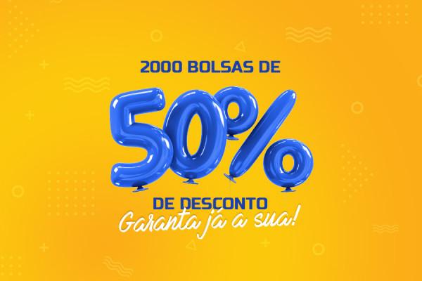 Edital para bolsas de desconto 2021/2 - Joinville