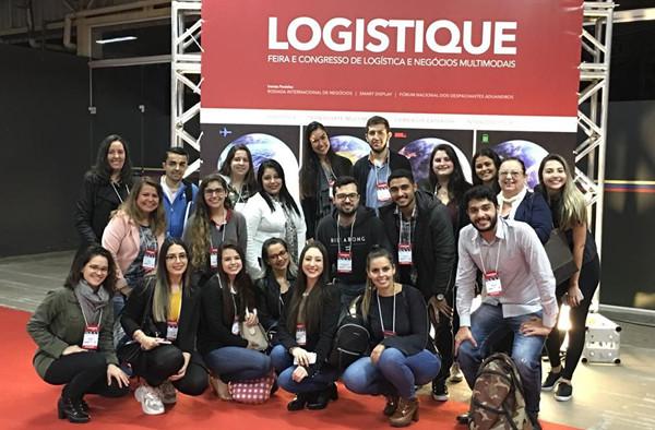 Administração FCJ marca presença na Logistique 2019