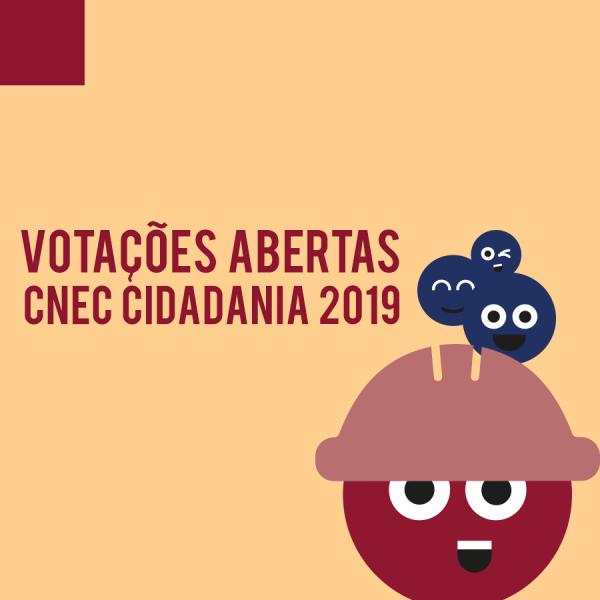 Começa nesta segunda-feira a votação para escolher o melhor projeto do CNEC Cidadania 2019