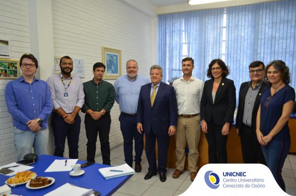 Presidente da CNEC visita a instituição