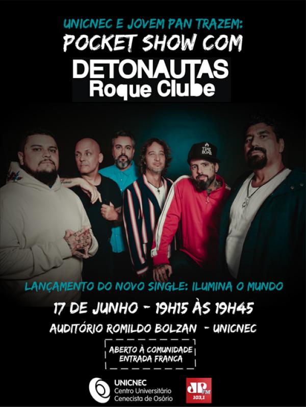Pocket Show com Detonautas Roque Clube