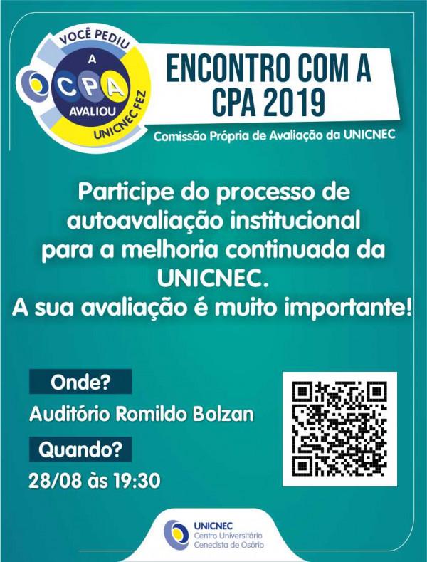 Encontro com a CPA 2019