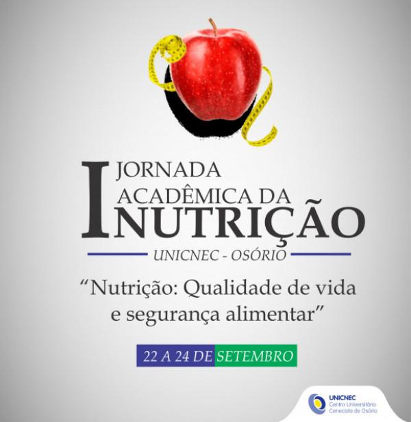 I Jornada Acadêmica de Nutrição da UNICNEC