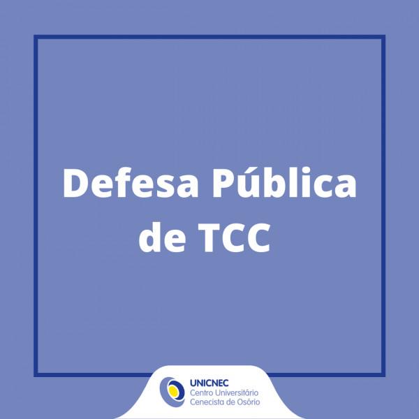 Defesa Pública de Tcc