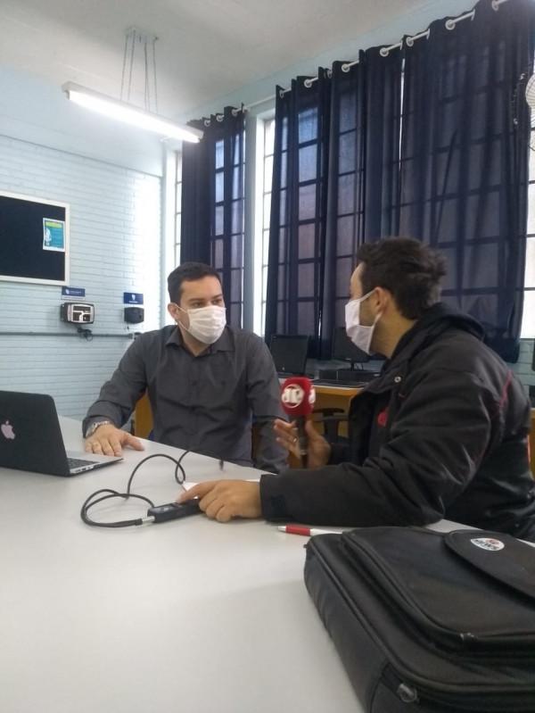 Prof. Dr. Alexandre Abicht é entrevistado pela Rádio Jovem Pan sobre o teleatendimento e sua gestão