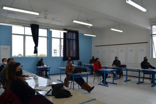 Comitê Gestor da Rede CNEC realiza reuniões na UNICNEC e Colégio Marquês