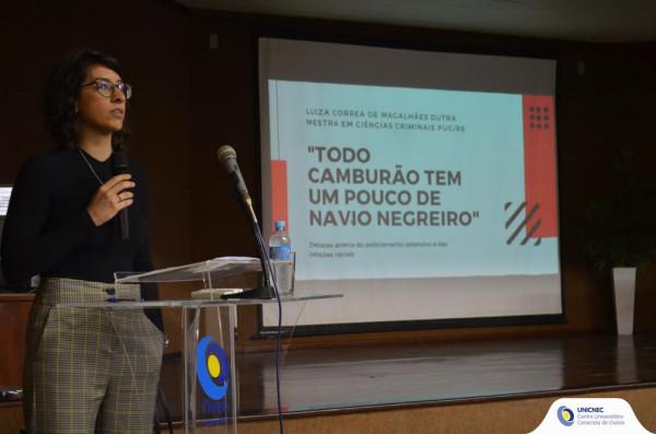 Curso de Direito realiza II Seminário de Ciências Criminais de Osório