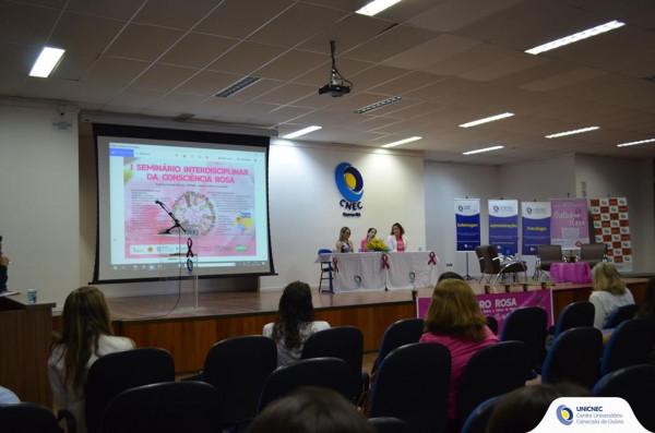 Outubro Rosa é tema de debate na UNICNEC