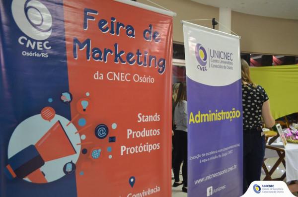 Feira de Marketing - Curso de Administração