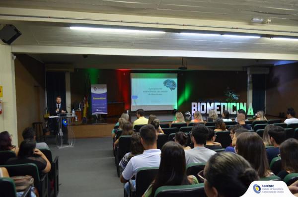 Aula Magna do curso de Biomedicina