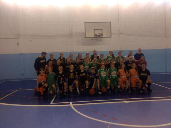 Treinamento da Seleção Gaúcha de Basquetebol