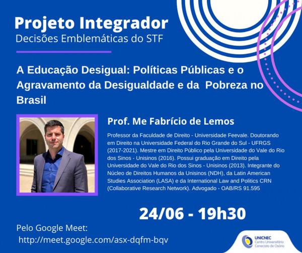Projeto Integrador - Curso de Direito