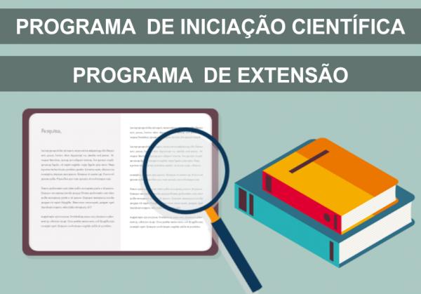 Programa de Iniciação Científica e Programa de Extensão