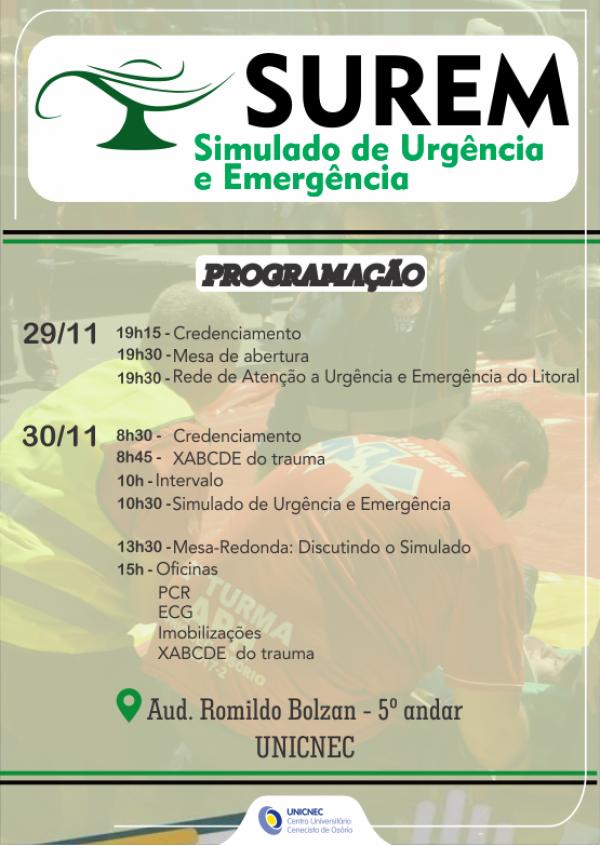 SUREM - Simulado de Urgência e Emergência