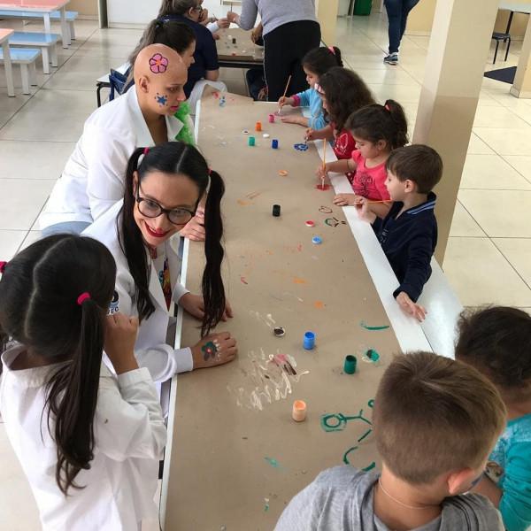 Curso de Enfermagem realiza atividade de Dia das Crianças