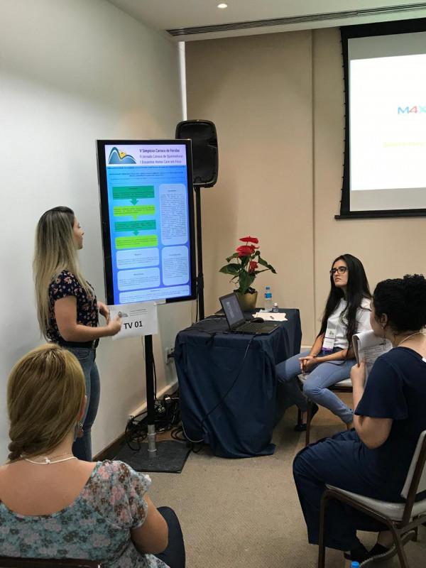 Acadêmicas do Curso de enfermagem representam o curso em Evento Científico no Rio de Janeiro