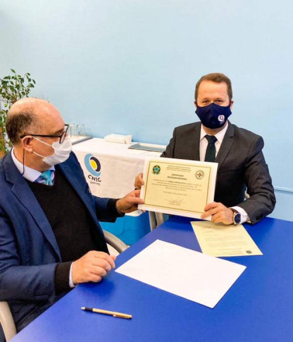 Prof. Dr. Gabriel Corteze Netto foi nomeado Delegado do Conselho Regional de Biomedicina - 5ª região