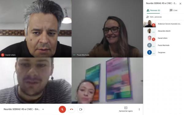Pró-reitor participa de reunião online sobre Educação Corporativa