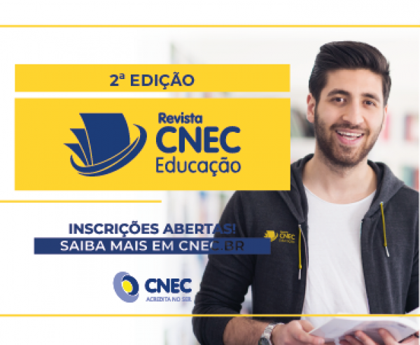 Inscrições abertas para publicação de artigos na Revista CNEC Educação