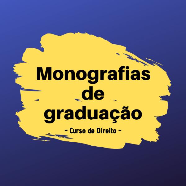 Apresentação pública de Monografias de Graduação