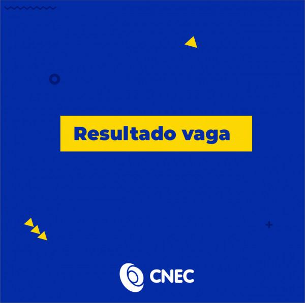 Resultado das vagas de docentes da CNEC.