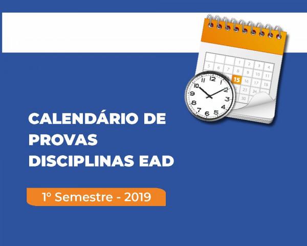 22 de abril - Início das provas das disciplinas EAD dos cursos presenciais