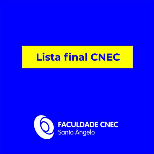 Lista final CNEC