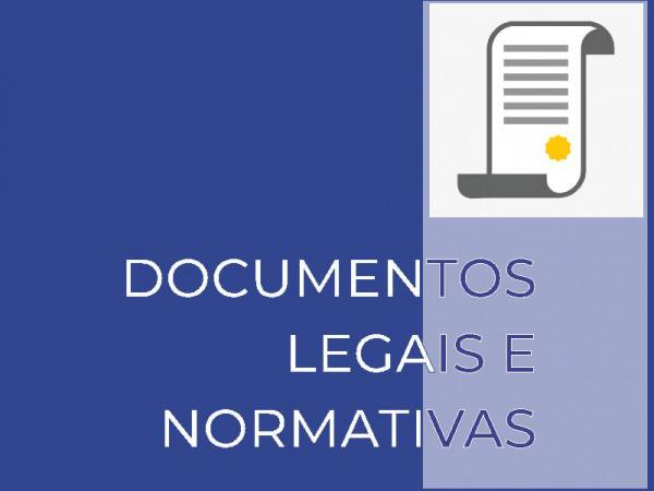 Documentos legais e normativas