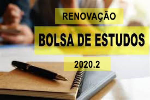 Edital para renovação de bolsas CNEC e bolsas PROUNI - 2020.2