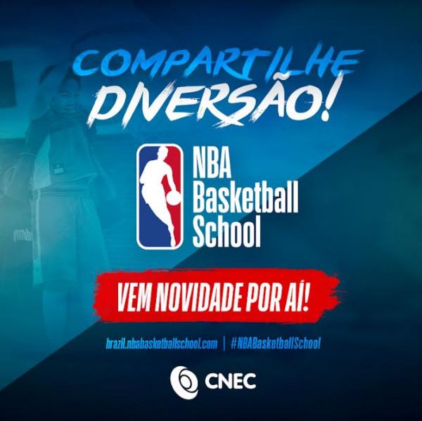 CNEC fecha parceria com a NBA Basketball School