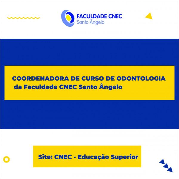 COORDENADORA DO CURSO  DE ODONTOLOGIA