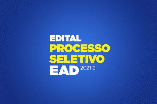 Edital EAD para bolsas de desconto 2021.2 - Santo Ângelo