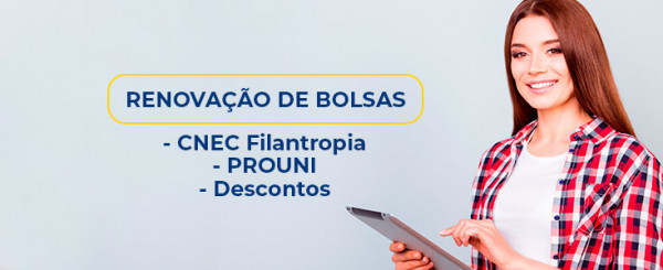 RENOVAÇÃO DAS BOLSAS 2020/1