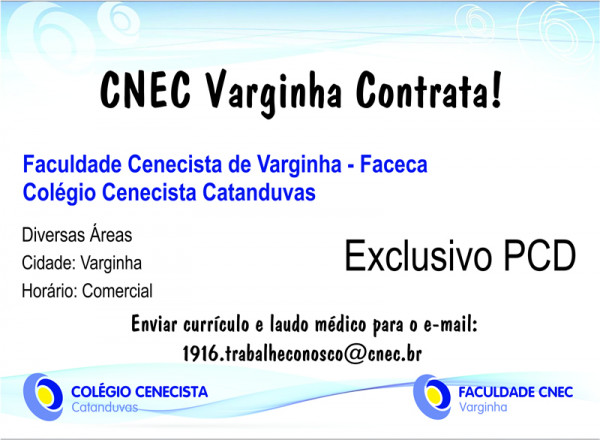 Cnec Varginha Contrata